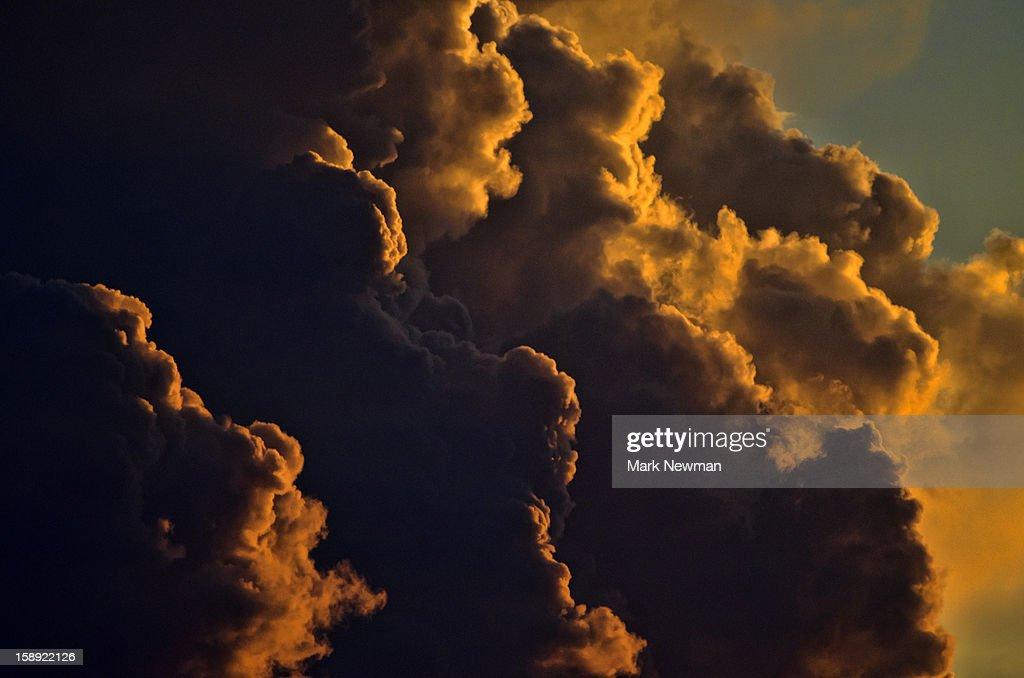 Sunrise clouds : Stock Photo