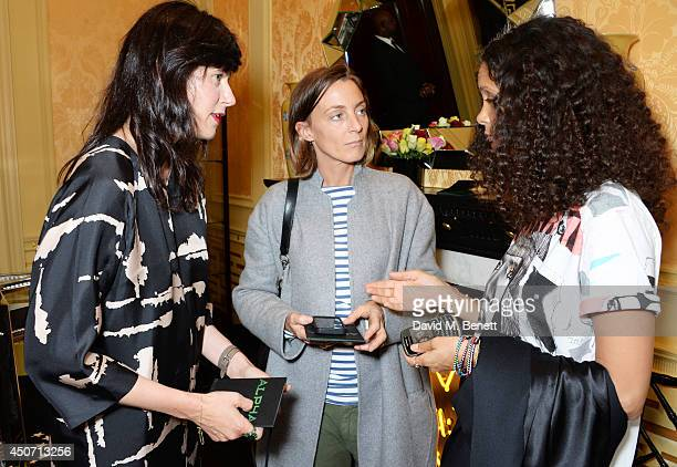 Sunrise Coigney Phoebe Philo and Thandie Newton attend the Solange Azagury Partridge presentation of her first menswear jewellery collection 'ALPHA'...
