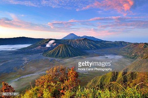 Sunrise dawn at Mt. Bromo, Indonesia