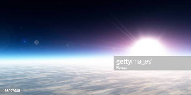 Sunrise from space (XXXL-50 MP)