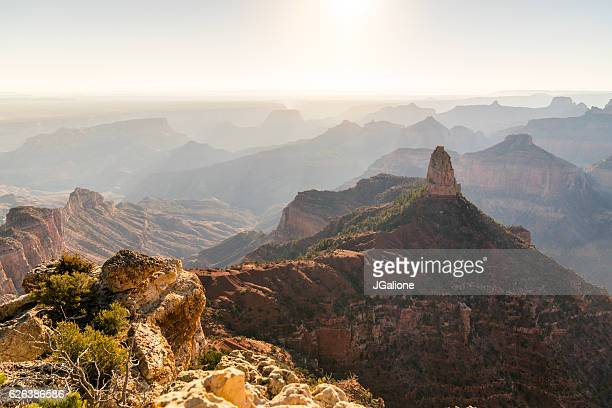 Sunrise From The North Rim Of The Grand Canyon