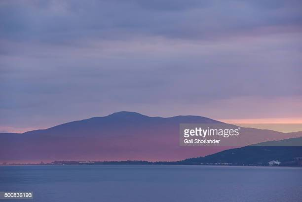 Sunrise Glow:  Aegean Sea