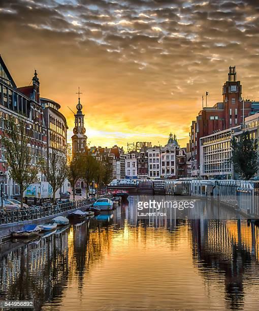 Sunrise in Amsterdam