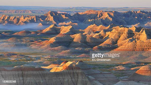 Sunrise in Banded Canyon