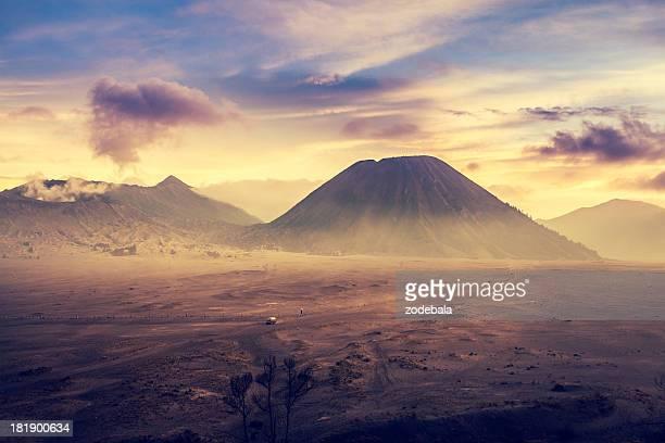 Sunrise in Bromo Tengger Semeru National Park, Indonesia