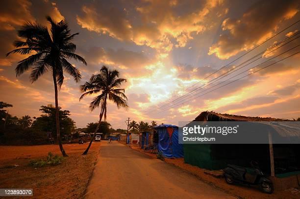 Sunrise in Candolim, Goa