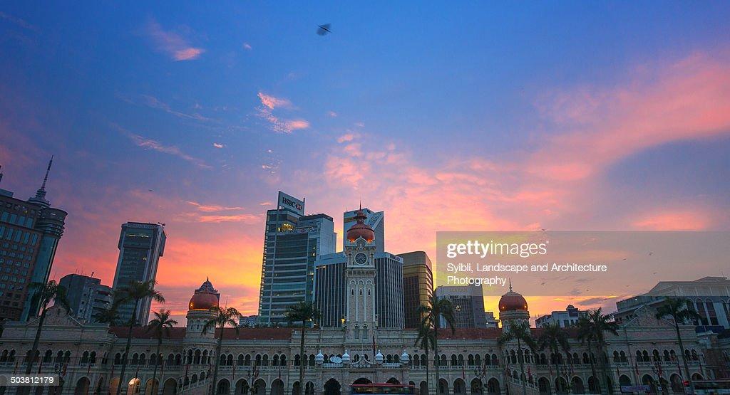 Sunrise in Dataran Merdeka