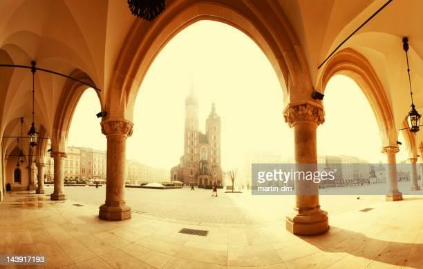 Sunrise in Krakow