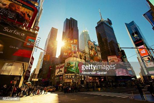 Sunrise in Manhattan
