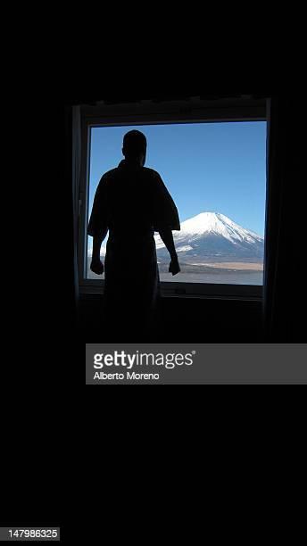 Sunrise in Mount Fuji