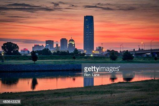 Sunrise in Oklahoma : Stock Photo