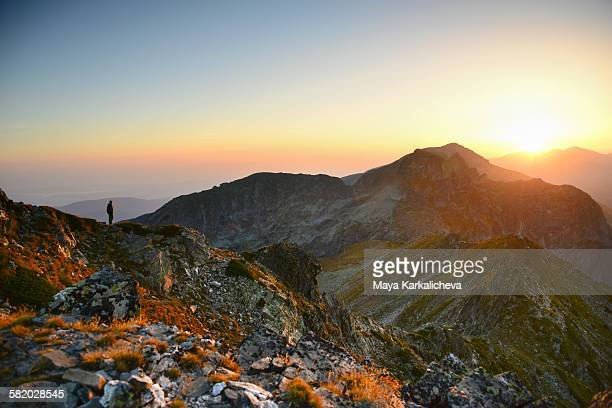 Sunrise in Rila mountain, Bulgaria