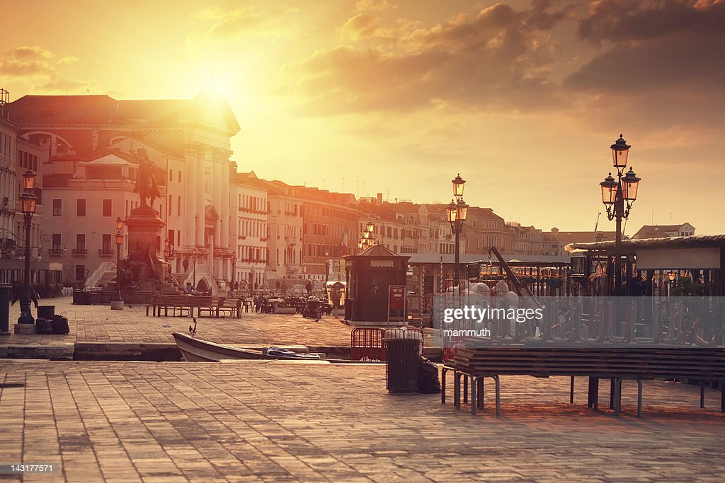 sunrise in Venice : Stock Photo