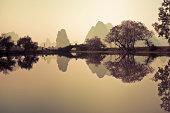 Sunrise of Lijiang River