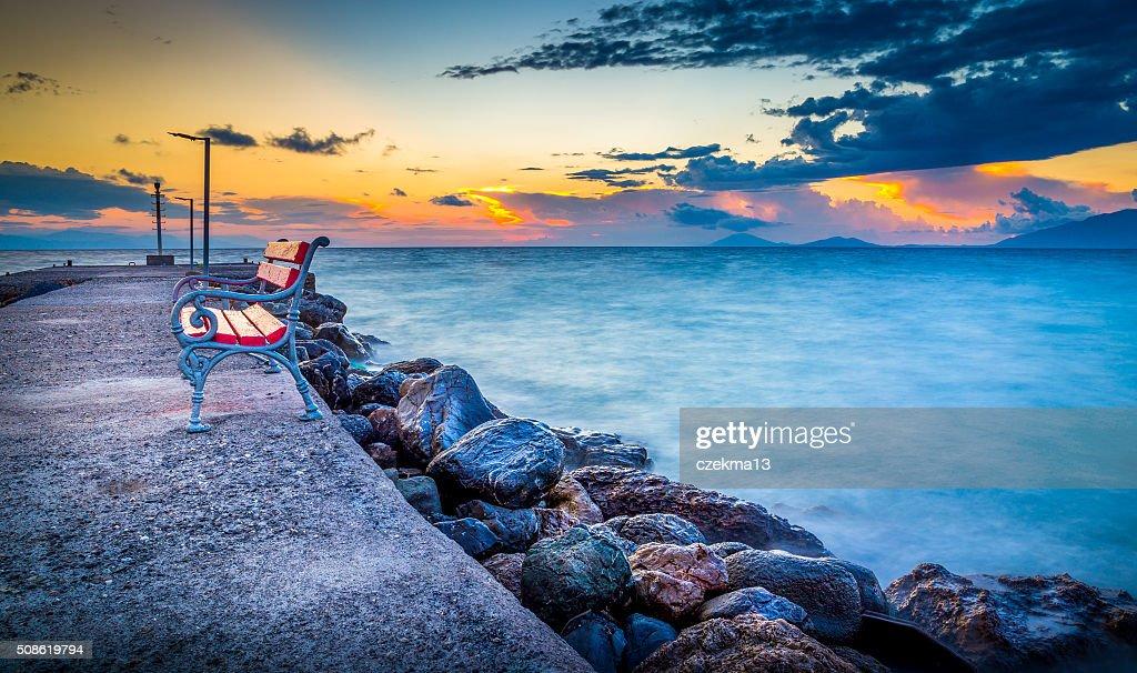 Sunrise on Kos island : Stock Photo
