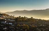 Sunrise on Lijiang Old Town , Yunnan , China