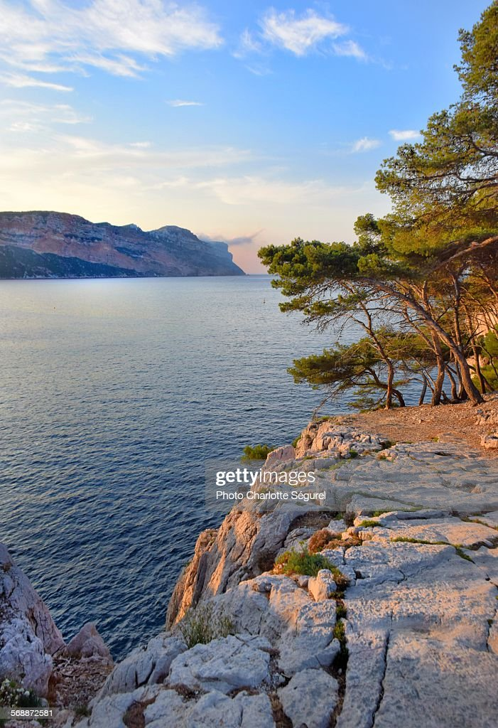 Sunrise on the Calanques
