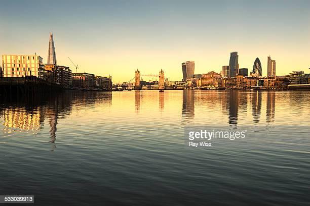 Sunrise on the London Skyline