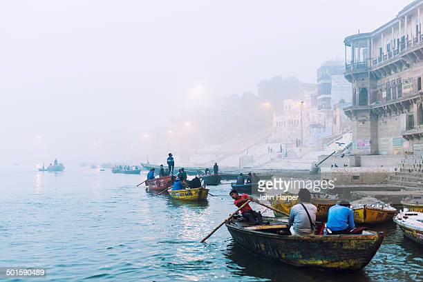Sunrise on the River Ganges, Varanasi, India