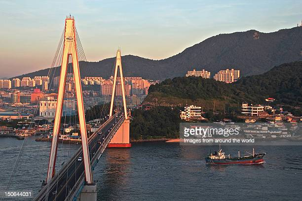 Sunrise on Yeosu, South Korea