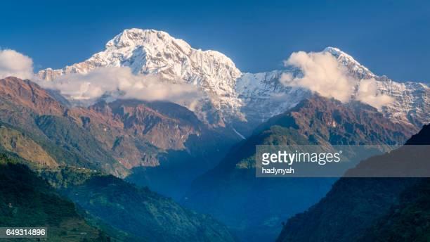 Sunrise over Annapurna Range, Nepal