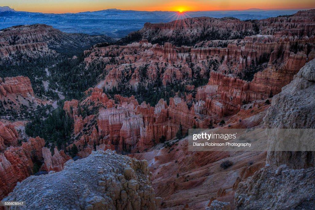 Sunrise over Bryce Canyon, Utah : Stock Photo