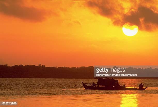 Sunrise Over Cambodia