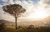 Sunrise over Cape Town South Africa