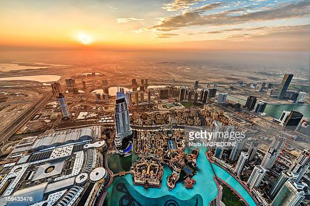 Sunrise Over Dubai