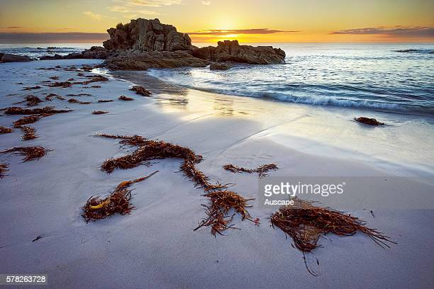 Sunrise over Friendly Beaches Freycinet National Park Tasmania Australia