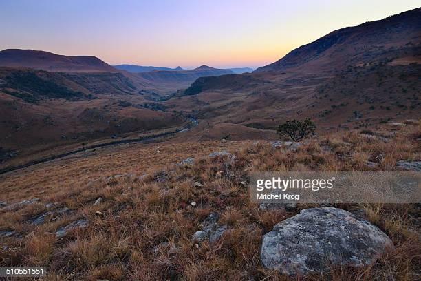 Sunrise over Giants Castle, Drakensberg