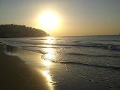 Sunrise over Haeundae Beach