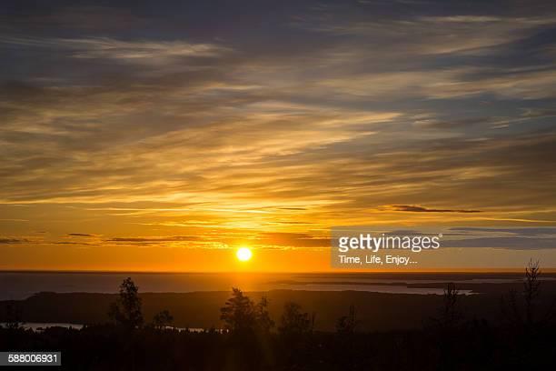 Sunrise over Hallekis