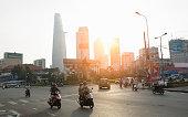 Sunrise over Ho Chi Minh City