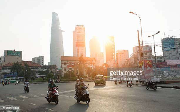 Sunrise over Ho Chi Minh City