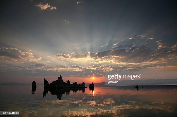 Lever de soleil sur le Lac Mono