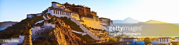 Sunrise over Potala Palace