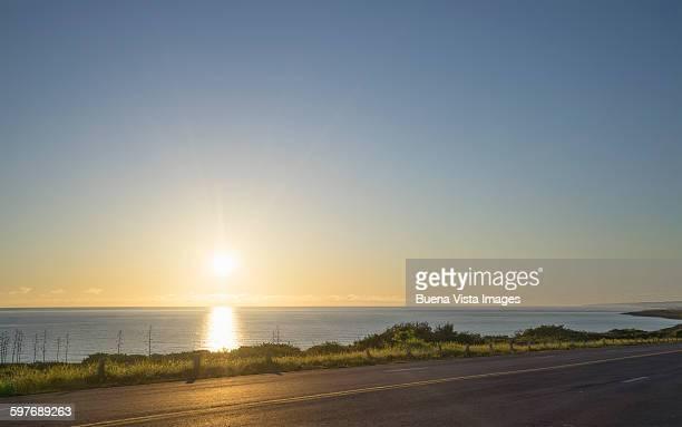 Sunrise over the cuban coast