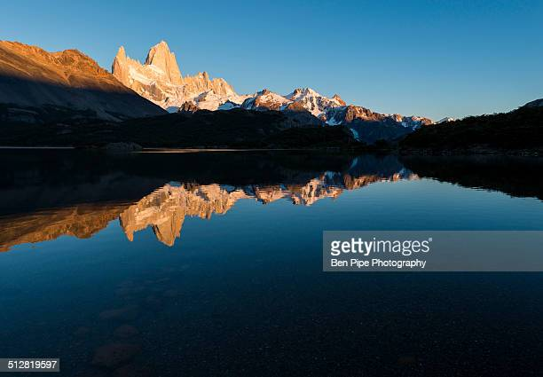 Sunrise over the Fitz Roy Mountain Range Argentina