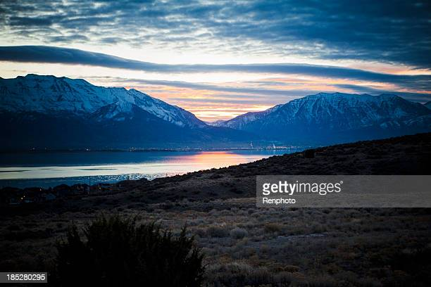 Sunrise Over Utah Lake