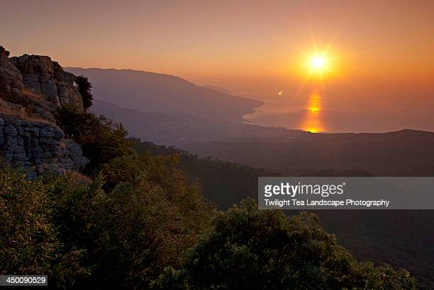 Sunrise over Yalta