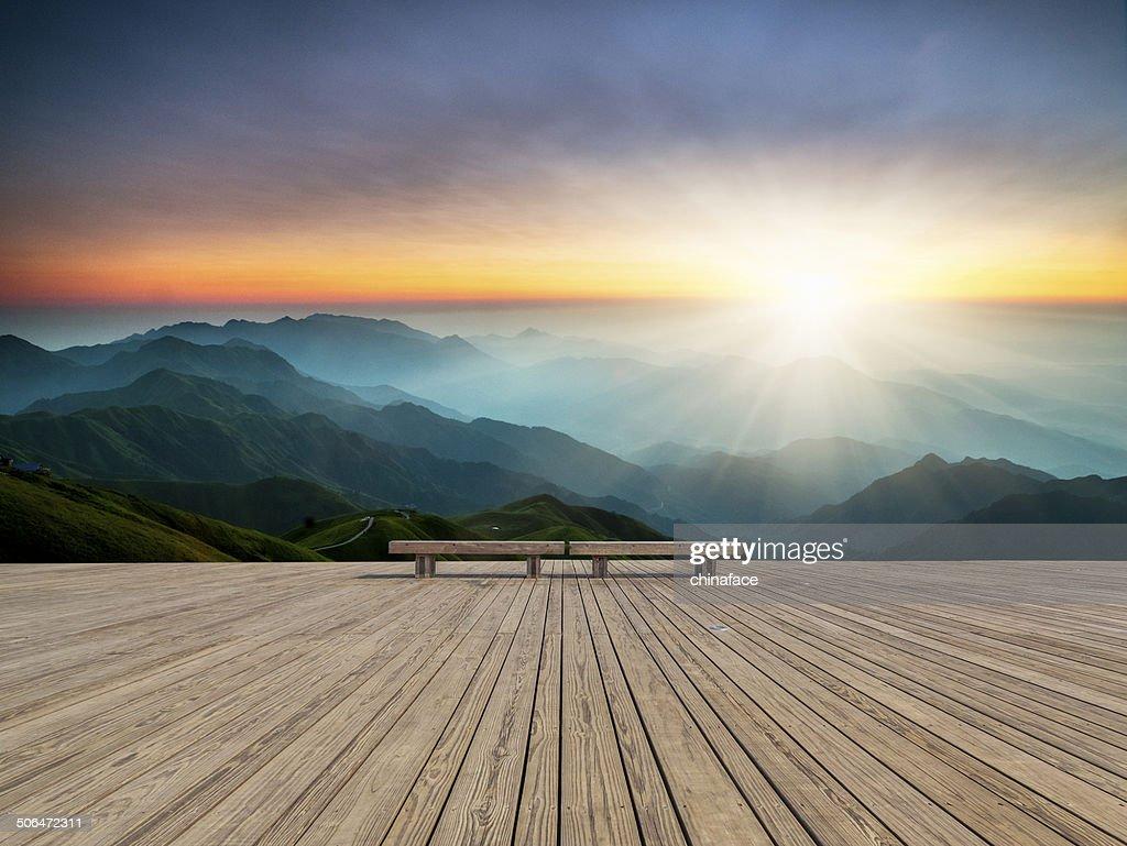 Lever du soleil : Photo