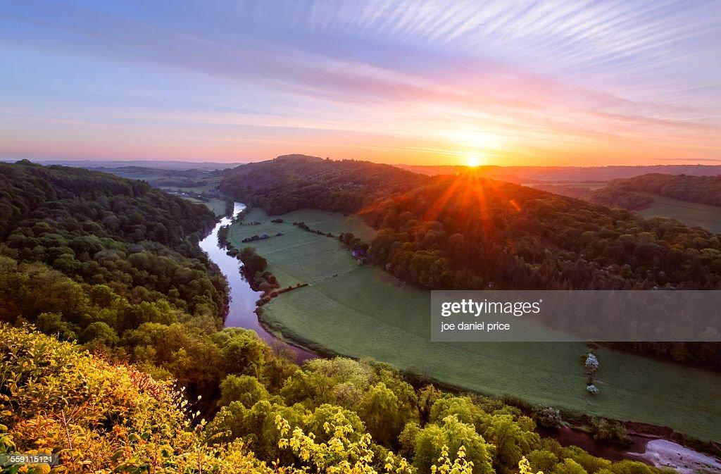 Sunrise, River Wye, Symonds Yat, Gloucestershire