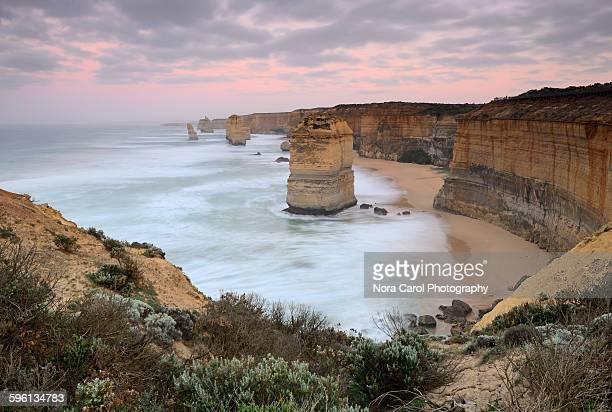 Sunrise scenery ar Twelve apostles, Victoria