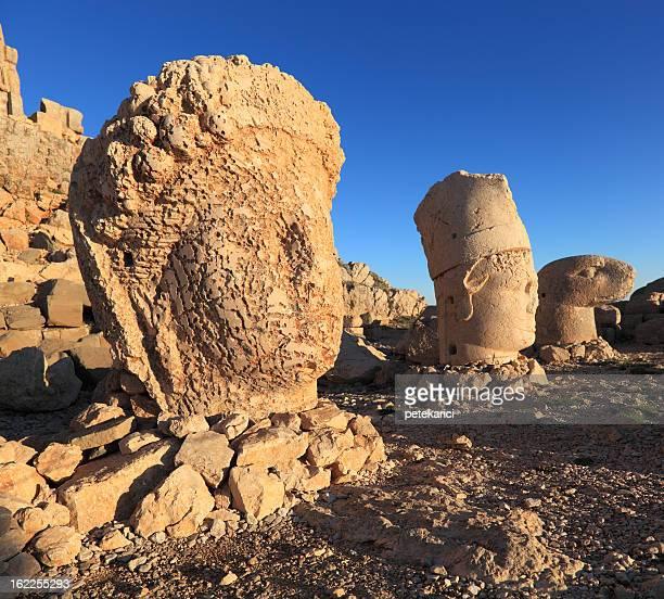 Sunrise; Sculptures of the Commagene Kingdom, Nemrut Dagi