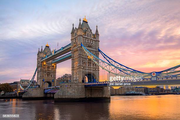Sunrise, Tower Bridge, River Thames, London