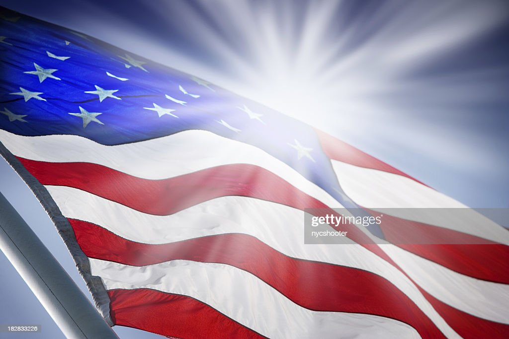 Sunrise USA : Stock Photo
