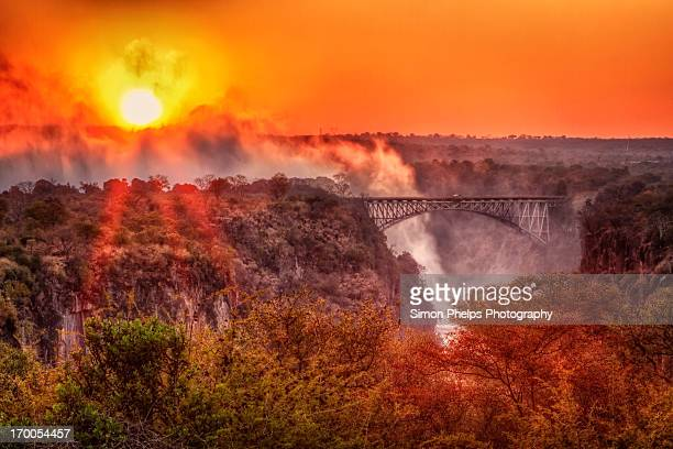 Sunrise, Victoria Falls, Zimbabwe