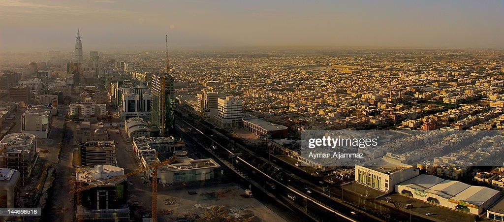 Sunrise view of Riyadh
