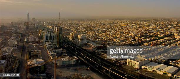 Sunrise view of Riyadh